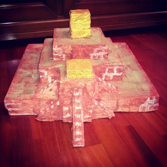 costruire una ziqqurat con i bambini