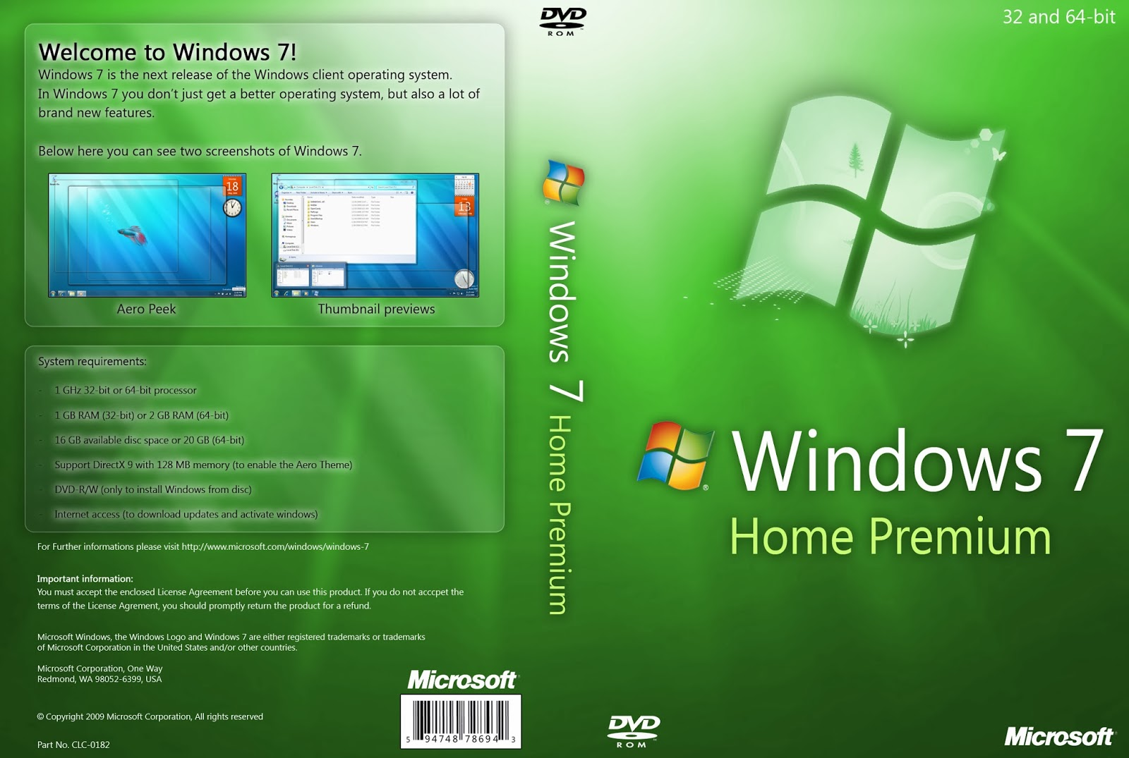 Windows 7 Home Premium free download ~ ((♥)) Welcome To My Blog ((♥))