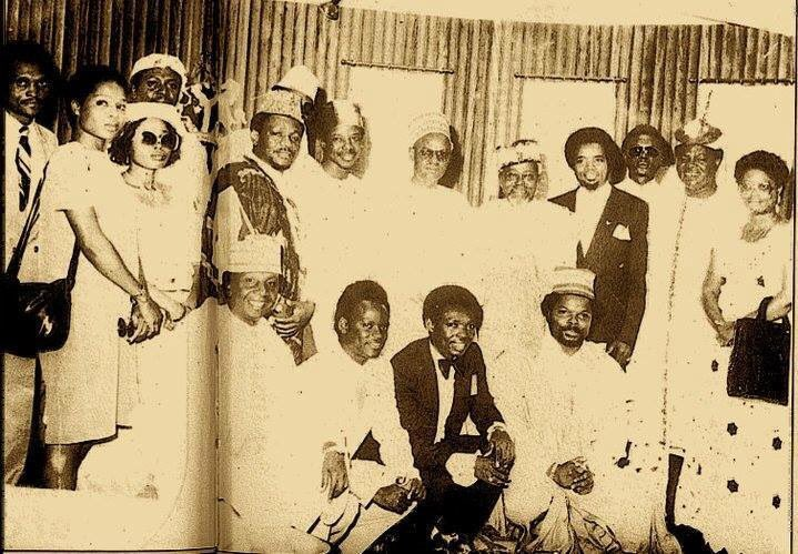 Nigerian Musicians With Shehu Shagari In 1982 (Throwback Photo)
