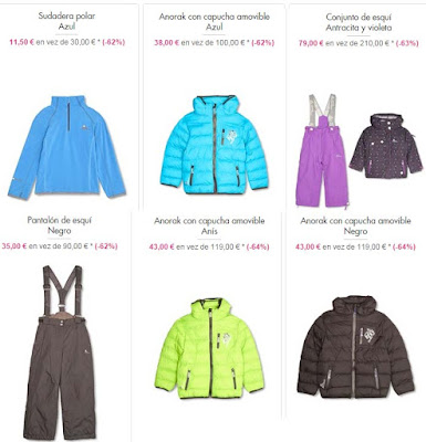 ropa esqui barata