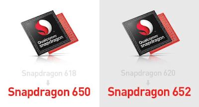 Qualcomm Snapdragon 650 vs 652