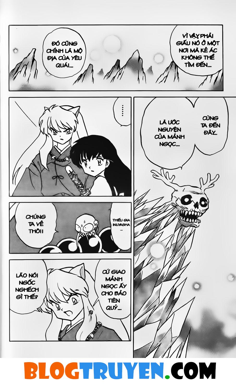 Inuyasha vol 33.1 trang 10