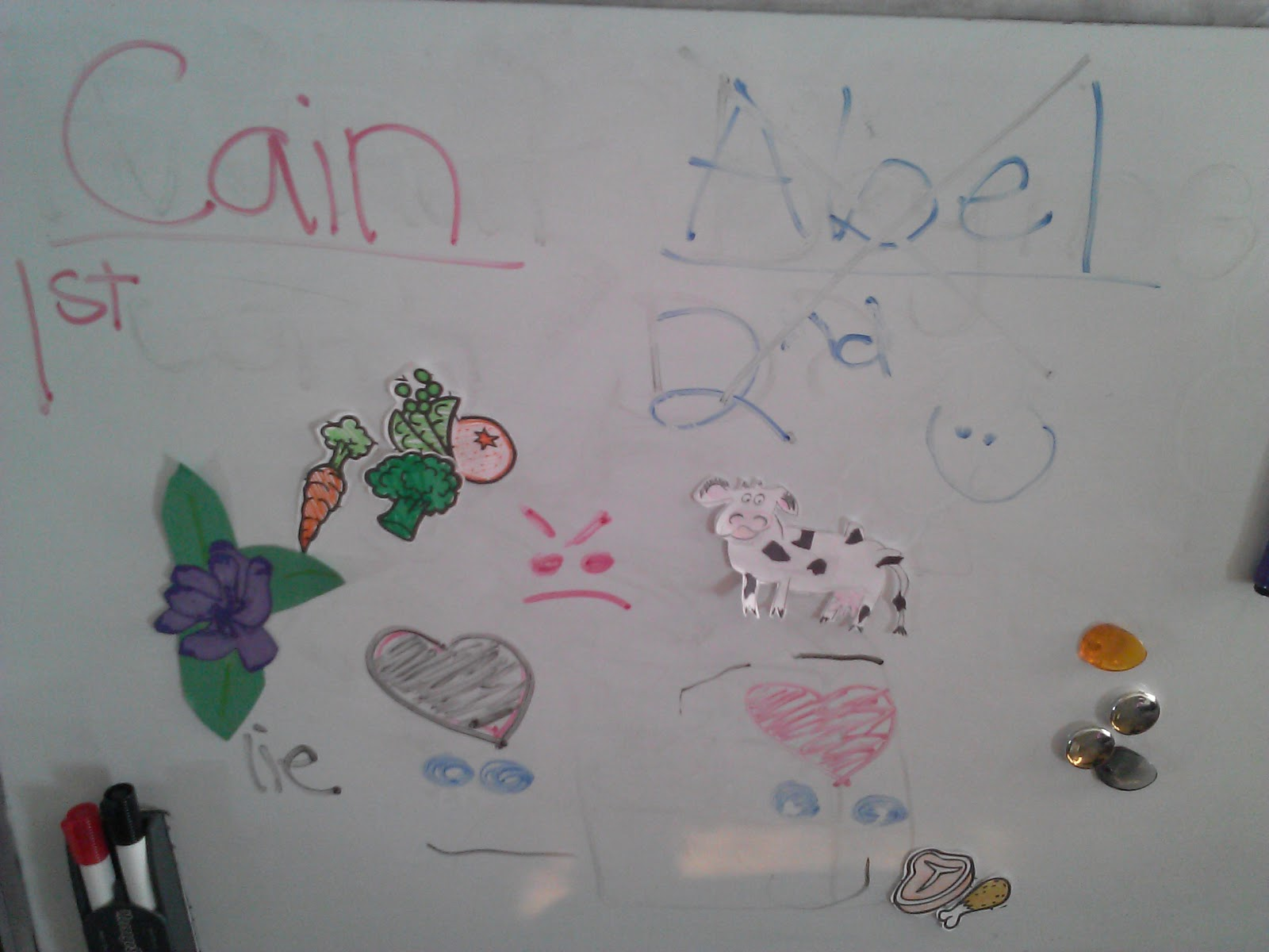 Cain and abel craft ideas - Cain And Abel