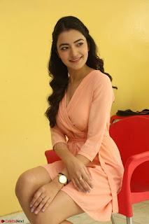 Rukshar Mir in a Peachy Deep Neck Short Dress 015.JPG