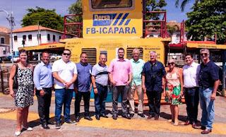 Prefeito Gabriel Rosa recebe presidente da Dersa para tratar de assuntos relacionados a travessia