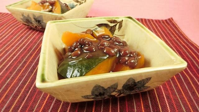 ゆであずきで簡単!冬至に食べるかぼちゃのいとこ煮ぜんざい