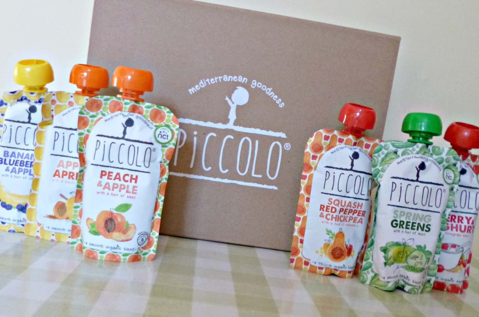 Tasty Organic baby food from Piccolo