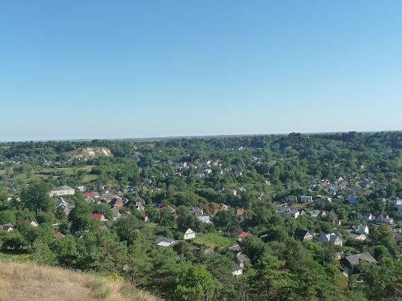 Кременец. Вид с горы Боны (Замковой)