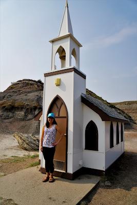 The Little Church, Drumheller, Alberta