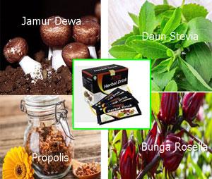 Manfaat  Ekstrak Jamur Dewa Dalam Agaric Herbal Drink Dalam Mengobati Diabetes