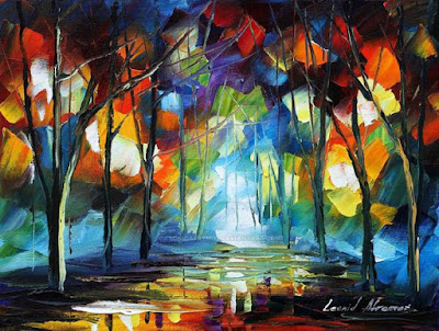 Mirror by Leonid Afremov