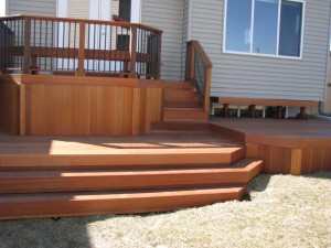 Harga decking kayu outdoor