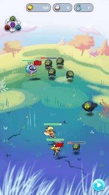 『エイリアンのたまご』ゲーム画面