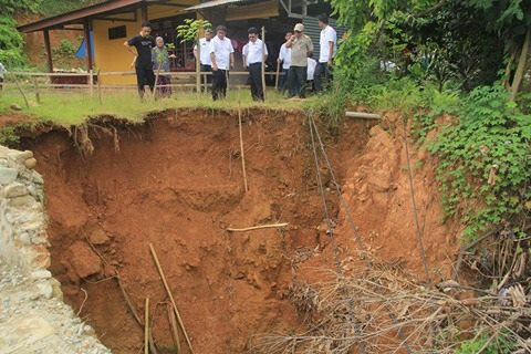Tinjau Drainase Ambruk, Ini Tanggapan Wali Kota Palopo