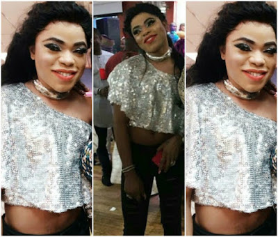 Bobrisky Rocks Crop Top To An Event, And Looks Beautiful