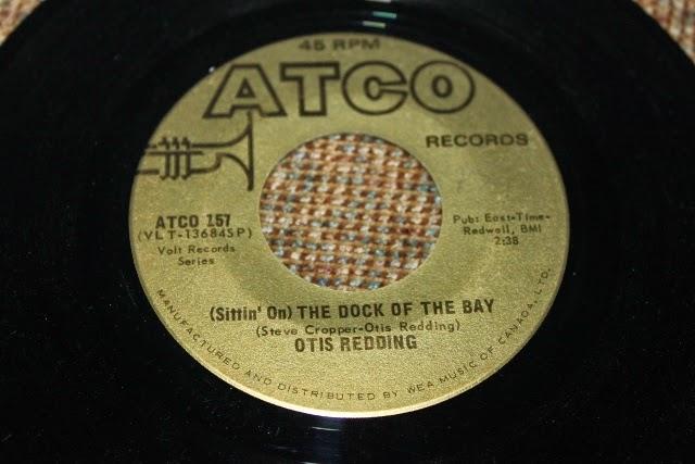 Maritime Vinyl Otis Redding Sittin On The Dock Of