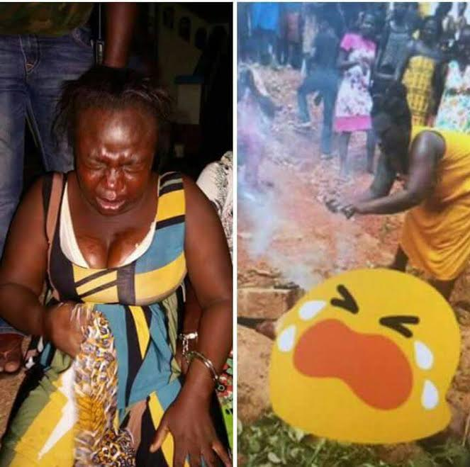 Woman who torched Captain Mahama's body arrested