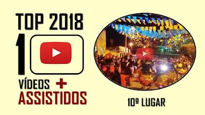 TOP 10 Vídeos mais assistidos em 2018 - 10º lugar