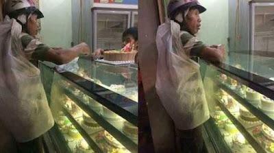 Ketika Seorang Pemulung Membelikan Kue Ulang Tahun untuk Istrinya