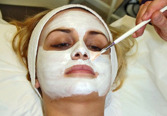 face mask, wrinkles, semen
