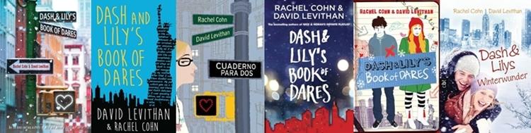 Księga wyzwań Dasha i Lily zagraniczne wydania