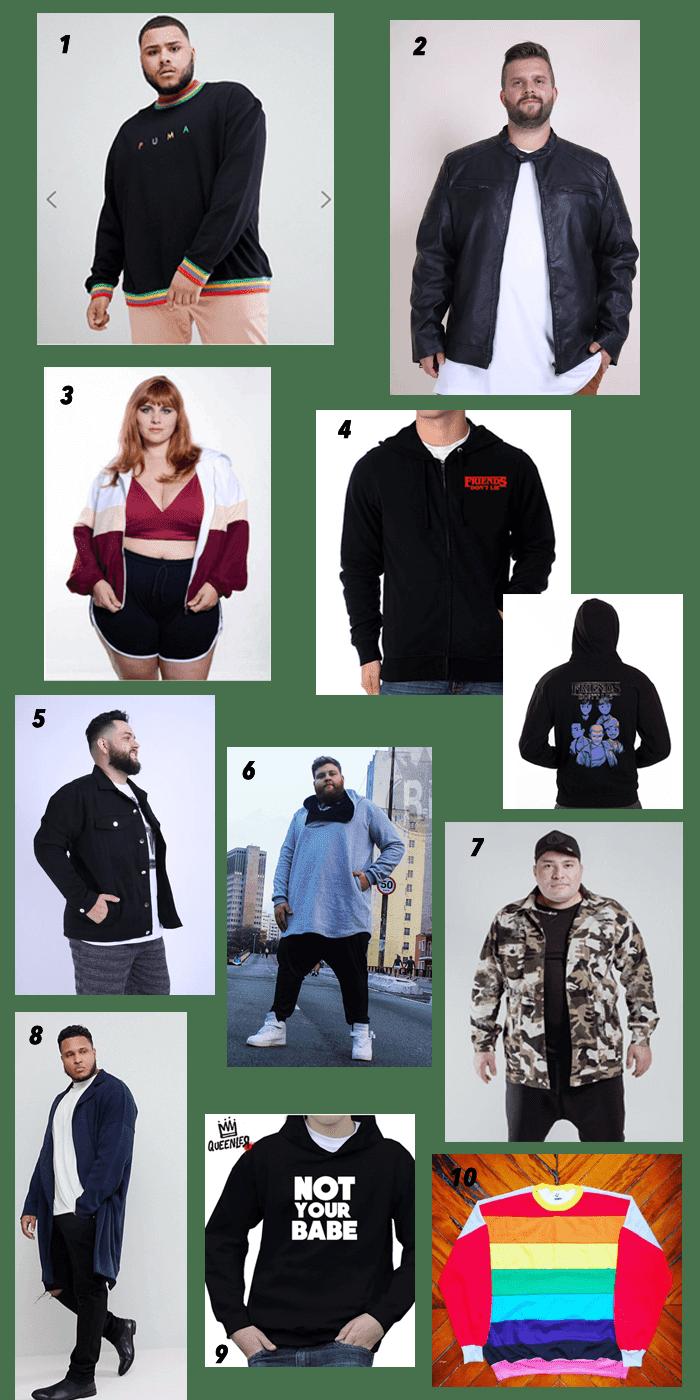 onde comprar roupas plus size de inverno
