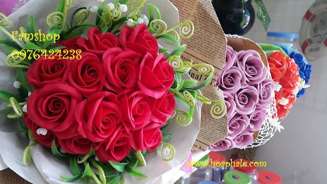 Hoa hong sap thom vinh cuu o Hang Mam