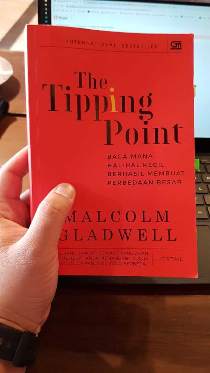 buku The Tipping Point Malcolm Gladwell - Gramedia