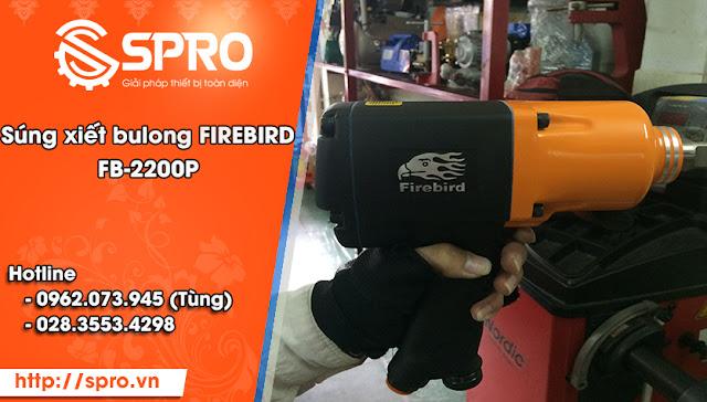 Súng vặn ốc và xiết ốc Firebird FB-2200P