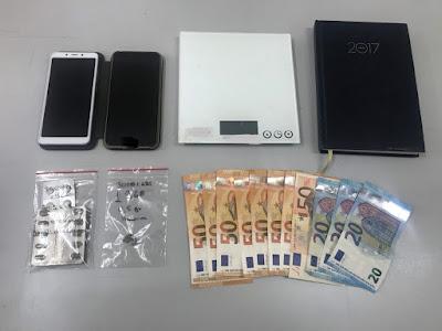 Συνελήφθησαν δύο άτομα για διακίνηση ναρκωτικών