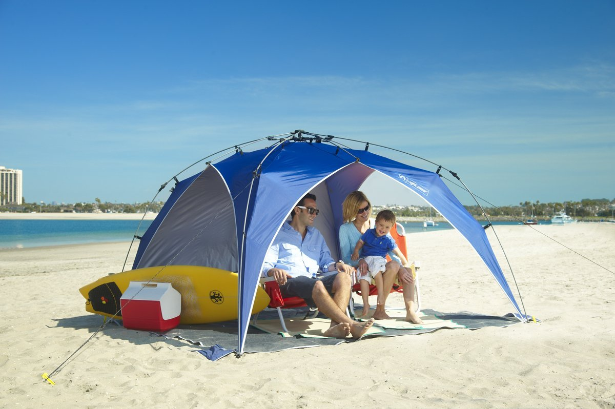 Beach Umbrella Review: Beach Umbrella : Lightspeed Canopy