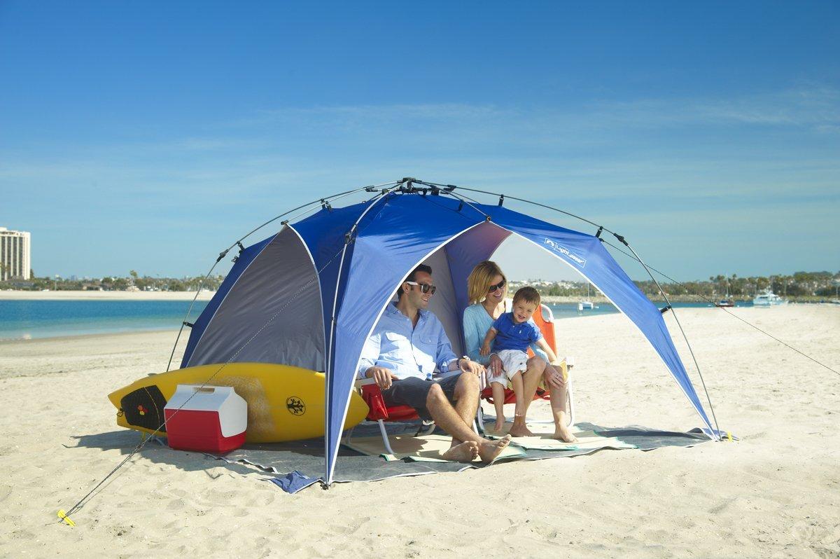 Beach Umbrella Review: Beach Umbrella : Lightspeed Canopy