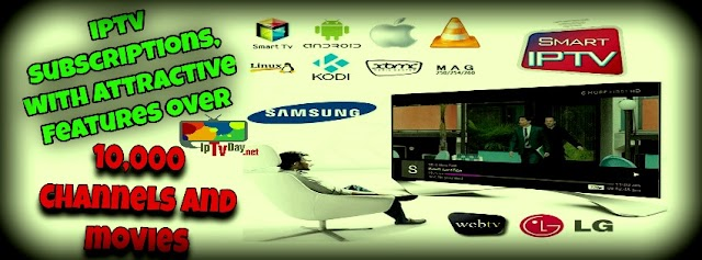iptv subscriptions 6500CH+8800 VOD channels and movies  for all countries