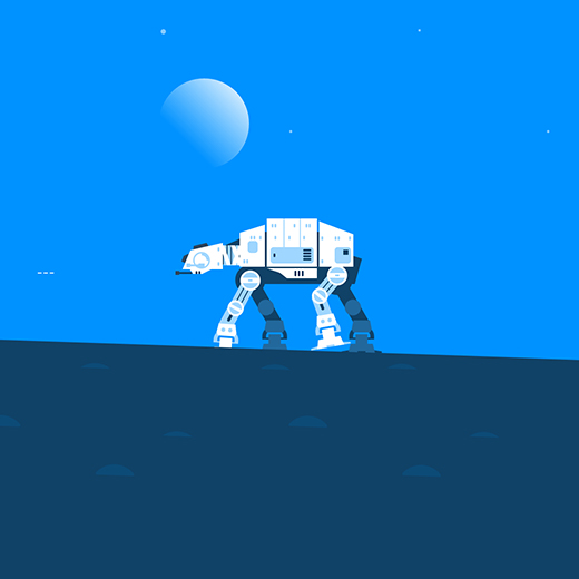 Star Wars AT-AT Wallpaper Engine