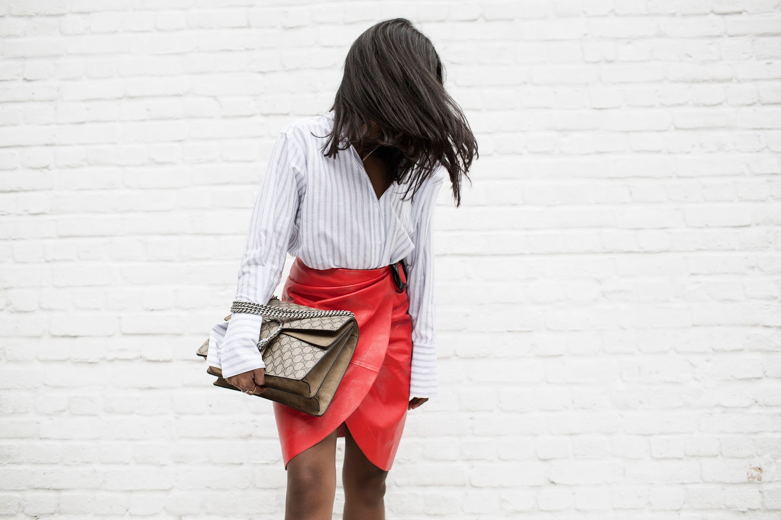 THAT JW ANDERSON LITTLE RED SKIRT