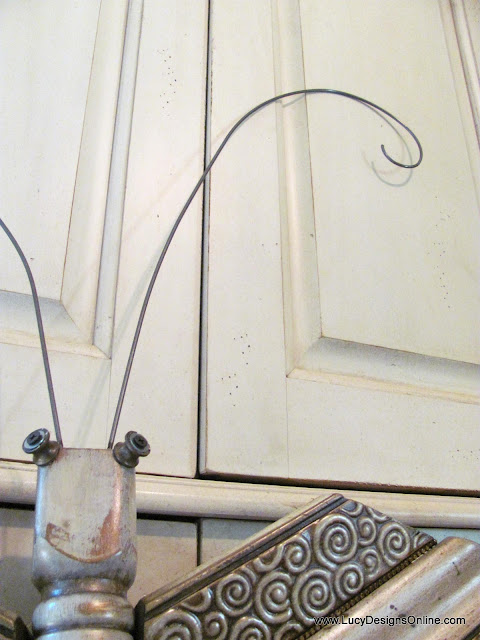 wire for whimsical oversized antenna