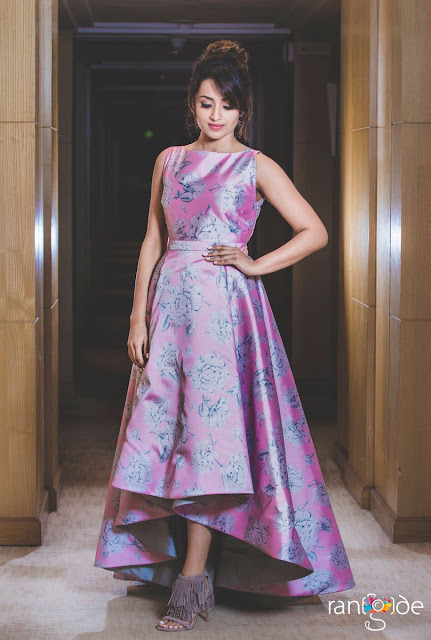 Actress Trisha at Filmfare Awards South 2017
