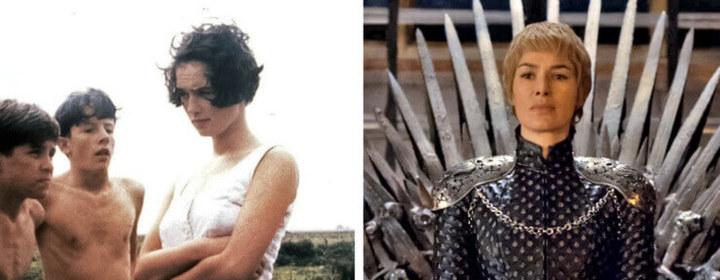 Atrizes do cinema antes e depois do primeiro filme
