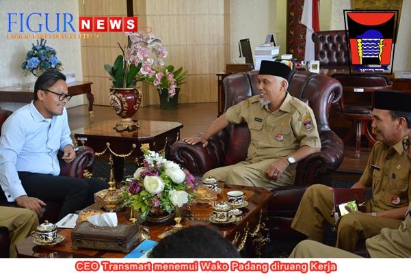 CEO Transmart Dony Oskaria, Temui Wali Kota Padang - Figur