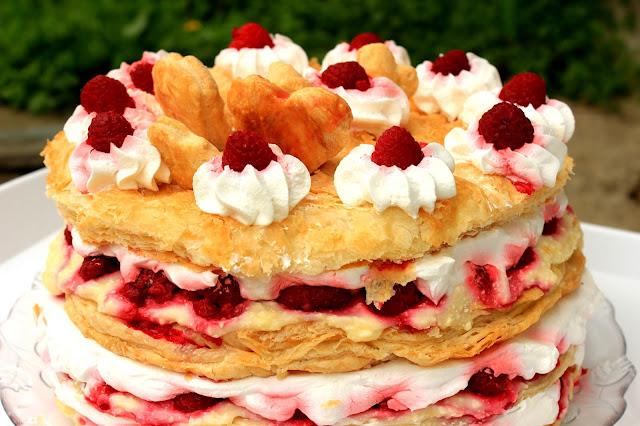 Lagana voćna torta od lisnatog testa