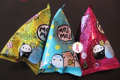Разноцветные пакетики-сюрпризы Moj Moj