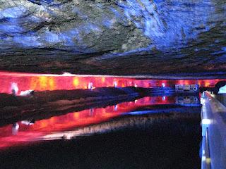 Light show salt lake crossing