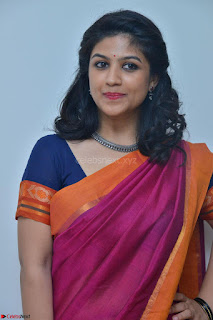 Supriya in Pink Saree Spicy Pics 023.JPG