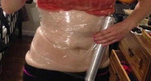 She Slept With Plastic Wrap And Bandages On Her Stomach- What Happened In The Morning Was Nothing Short Of Miracle