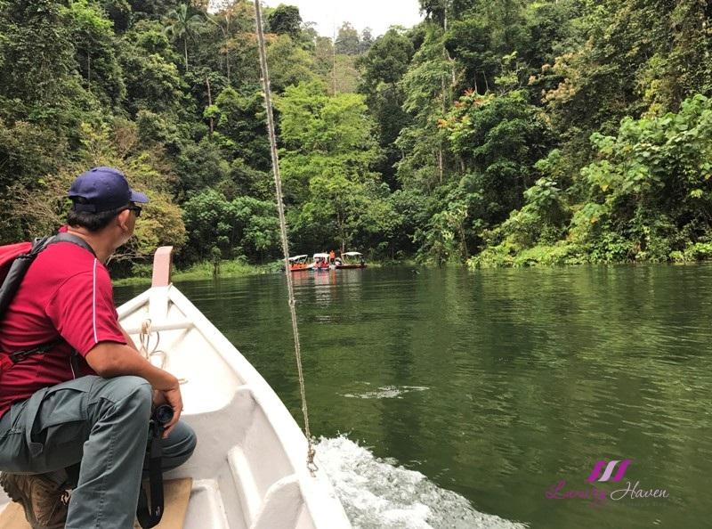 tourism perak sg kooi waterfall boat ride