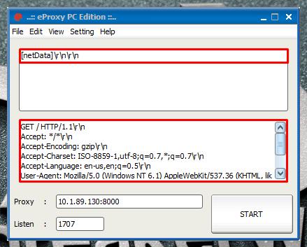 Eproxy for windows