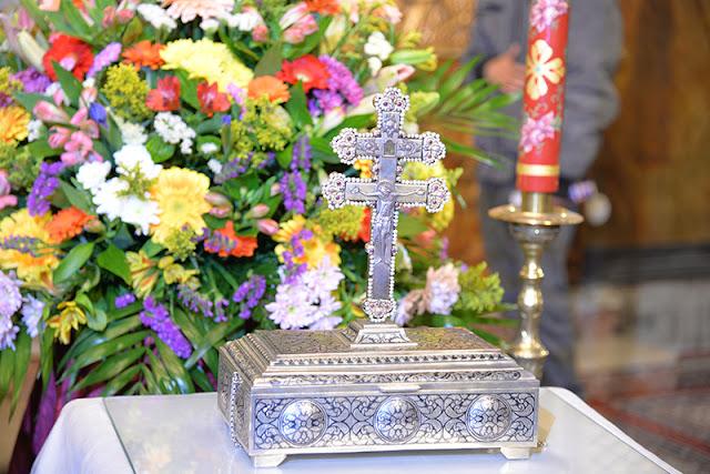 Το Τίμιο Ξύλο της Ιεράς Μονής Προφήτου Ηλιού Θήρας. https://leipsanothiki.blogspot.com/