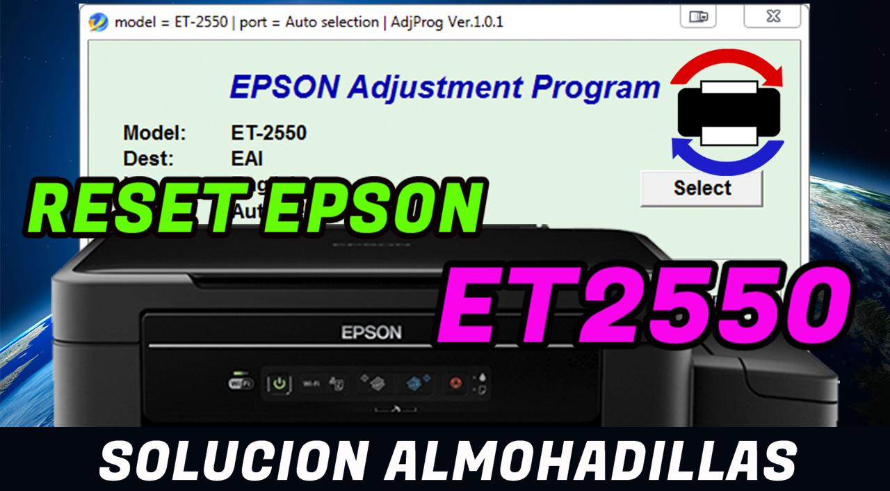 Problema De Almohadilla Epson Et2550 Soluci 243 N