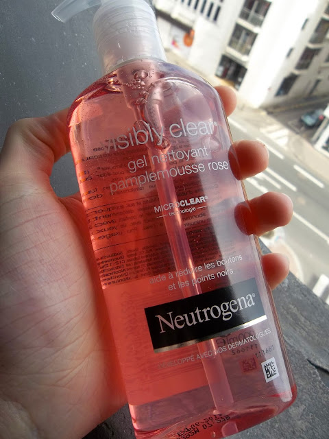 Gel Nettoyant Pamplemousse Rose Visibly Clear - Neutrogena