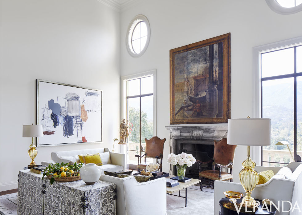 An Eclectic Mix of Room Styles - South Shore Decorating Blog on Best Sconces For Living Rooms Near Me id=89043